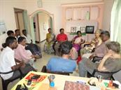 Overseas AA interacting with Pondy Clients